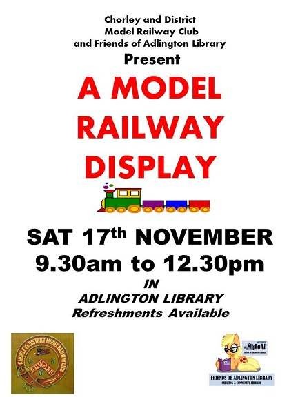 Model Railway Display in Adlington