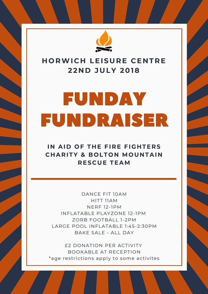 Funday at Leisure Horwich Leisure Centre