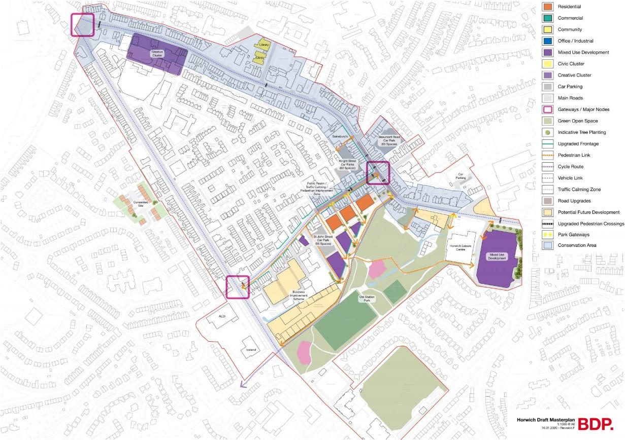 Horwich Town Centre masterplan update