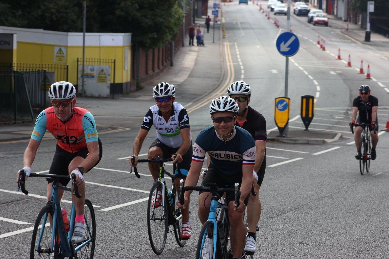 IRONMAN UK passes through Horwich!