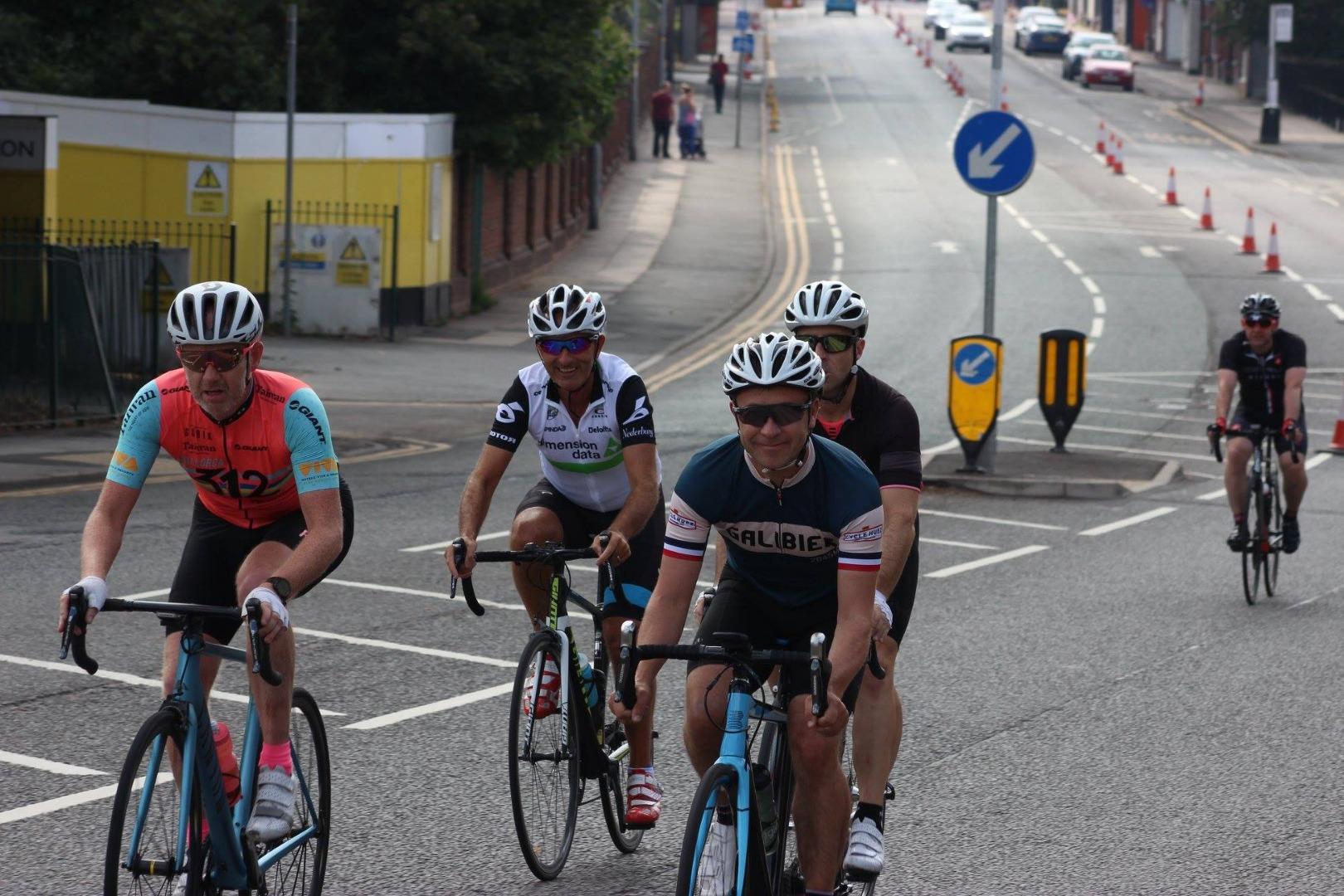 IRONMAN UK passes through Horwich!