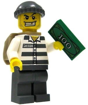 LEGO City Robber Raids Market Place