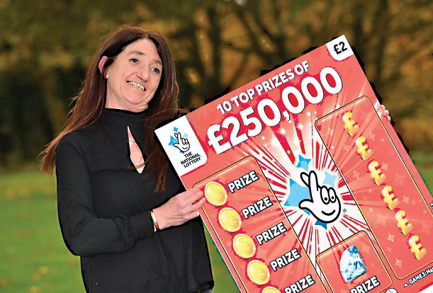 Barmaid wins £250,000 on Scratchcard Lottery