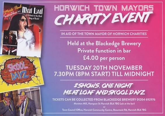 Two Shows in One Night for Horwich Mayor's charity