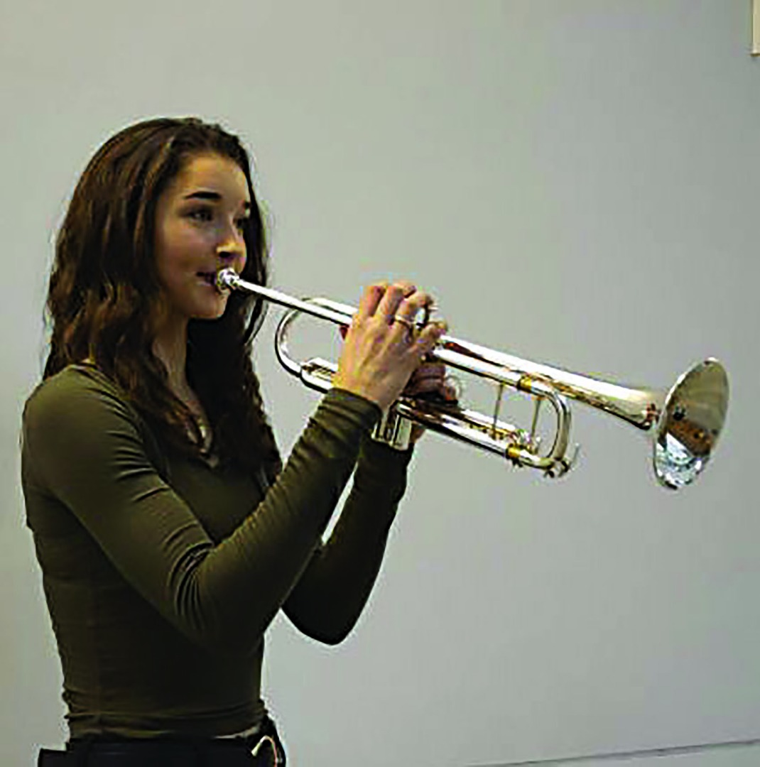 Holly's royal trumpet performance