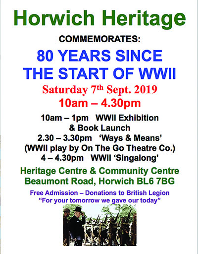 Horwich Heritage mark 80 years since the start of WW2