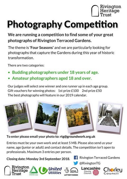 Rivington Terraced Gardens launch amateur photography competition