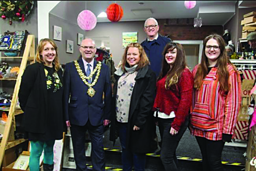 Shop plans to be  hub of community