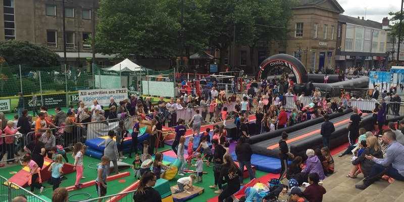 Sport on the Square to help more people get active