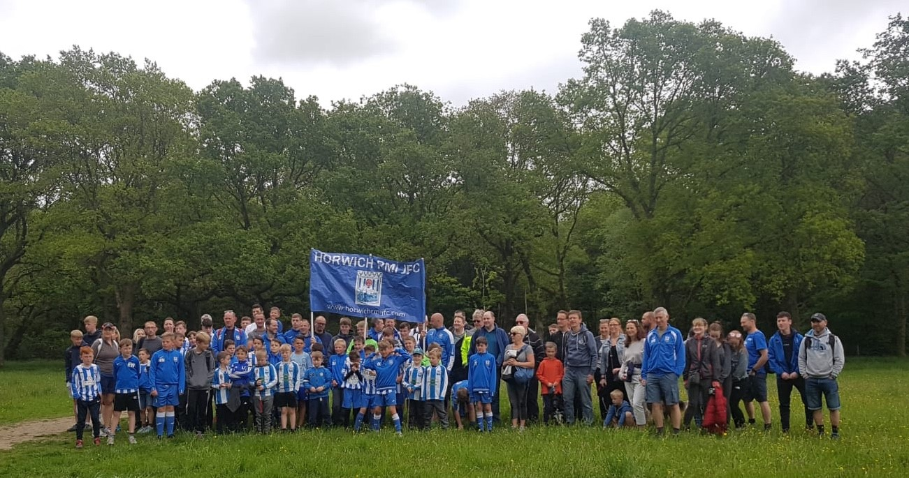 Sponsored walk held by Horwich RMI JFC
