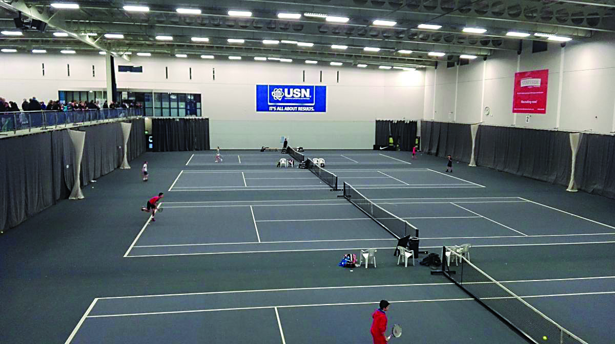 World's top tennis juniors return to Bolton Arena