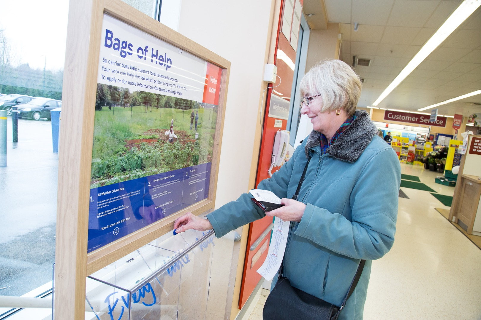 Tesco Bags of Help looking for grant applications in Lancashire