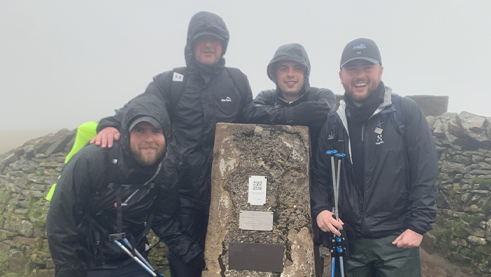 Horwich Brothers conquer Three Peaks challenge