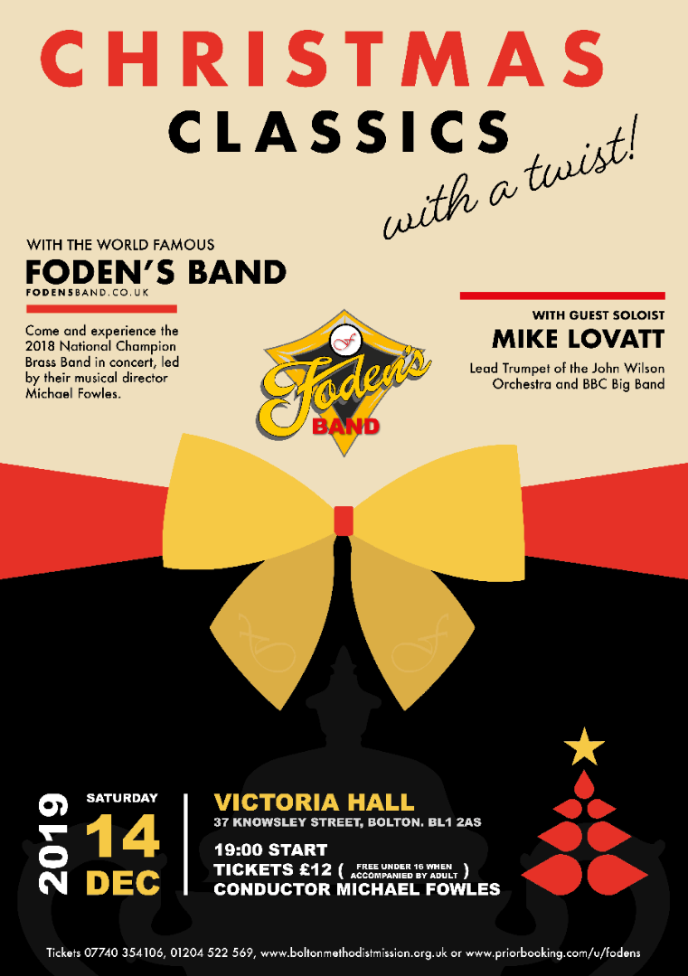 Christmas Classics with a Twist at Victoria Hall Bolton